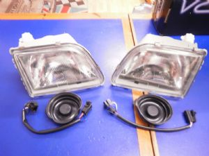 Austin Metro Headlamps Pair